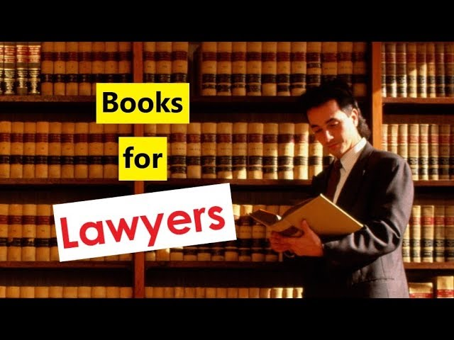 Books to read for Lawyers & Law students in India.