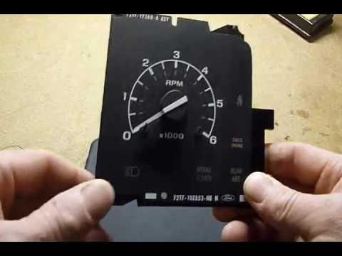 ford tachometer repair
