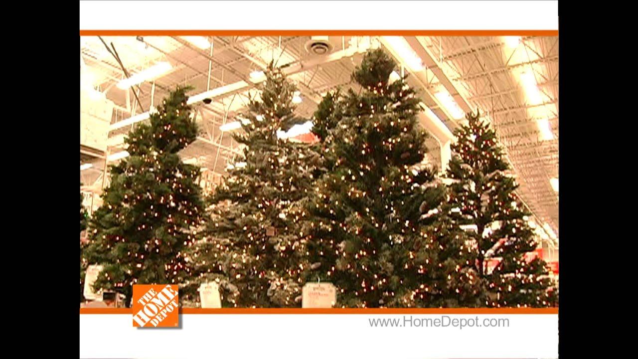 Home Depot Christmas Trees - YouTube