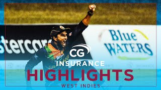 Extended Highlights | West Indies vs Sri Lanka | Hasaranga Shines | 2nd CG Insurance T20I 2021