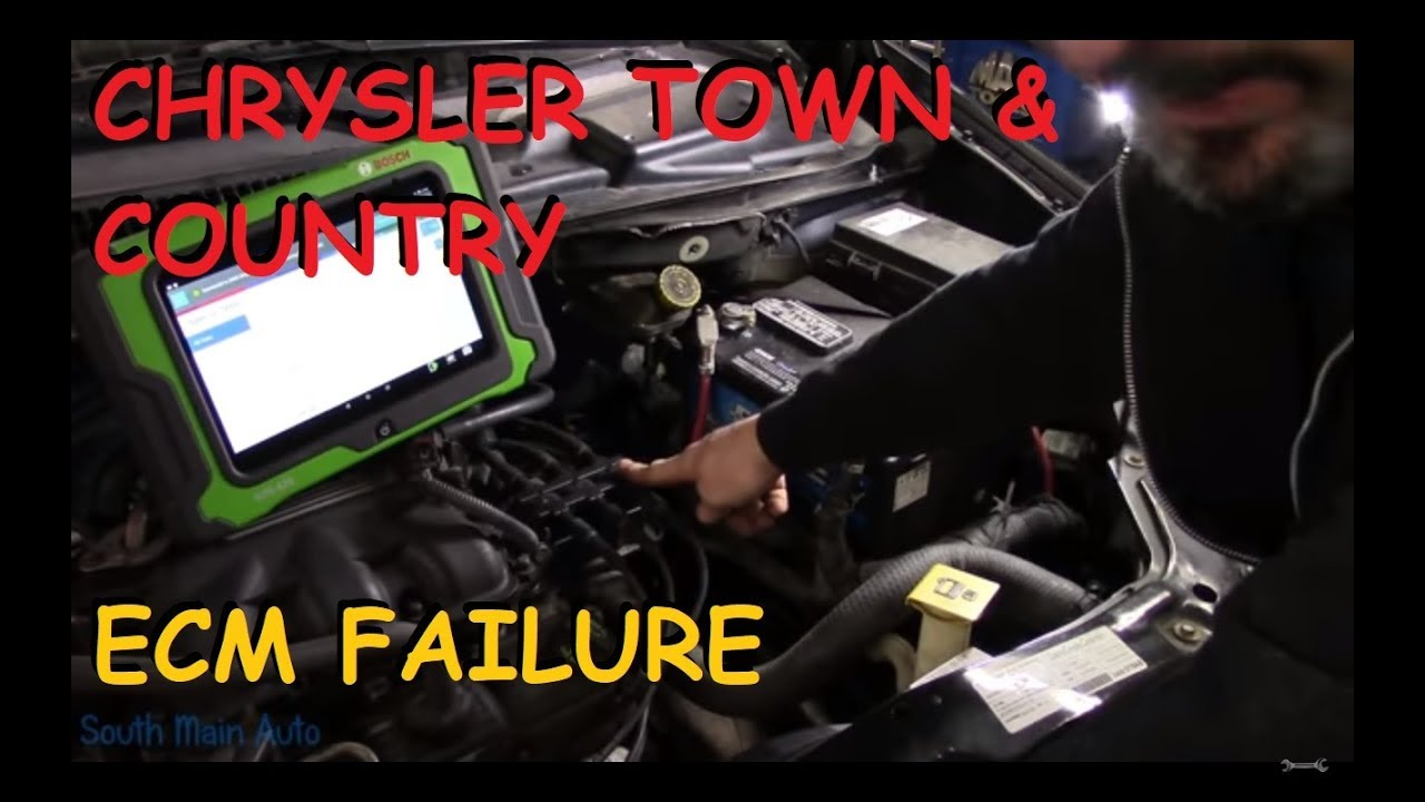 Chrysler Town  U0026 Country  P2308 Ecm Failure