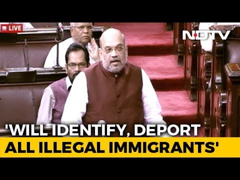"""""""Illegal Immigrants Living On Every Inch Will Be Deported"""": Amit Shah"""
