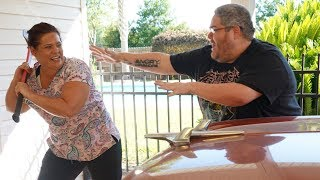 JENNIFER VS GRANDPA'S DREAM CAR