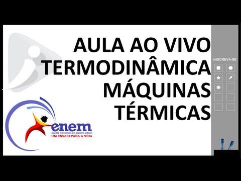 Transmações gasosas - Termodinâmica - Aula completa