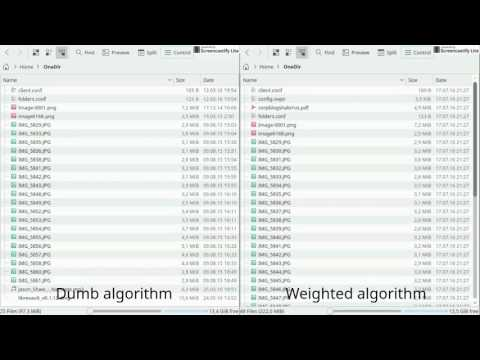 Librevault download algorithm comparison