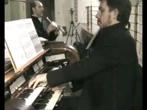 fabiano maniero.Duo Maniero-Celeghin.T. Albinoni concerto in Do Magg. 2 grave