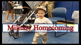 MILITARY HOMECOMING | Homecoming after 9 Month Army Deployment