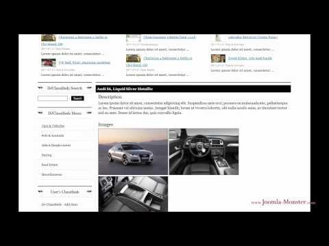 Joomla 1.5 Template: JM News Portal