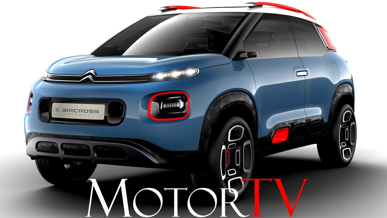 crossover all new 2017 citroen c aicross concept l next gen c3 picasso youtube. Black Bedroom Furniture Sets. Home Design Ideas