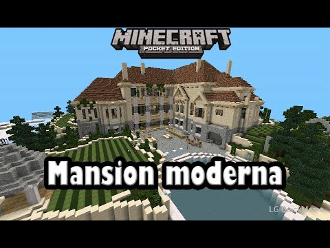Descarga mansion moderna para minecraft pe 0 9 5 alpha for Casa moderna minecraft pe 0 10 5
