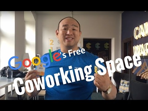 Google's Free Coworking Space!