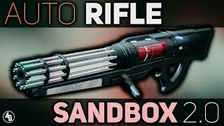 Auto Rifle Damage Values (Sandbox 2.0)   Destiny 2 Forsaken