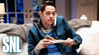 Chad (Pete Davidson) faces down an anonymous, Scream-like killer (John Mulaney), who calls to challenge him to a dangerous game. #SNL #JohnMulaney ...