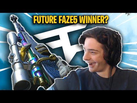This guy says he's the next FaZe Clan Recruit