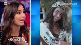 Elisabetta Gregoraci racconta la sua esperienza a Miss Italia - Vieni da me 02/01/2018