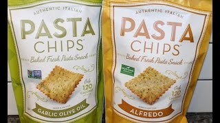 Authentic Italian Pasta Chips: Garlic Olive Oil & Alfredo Review