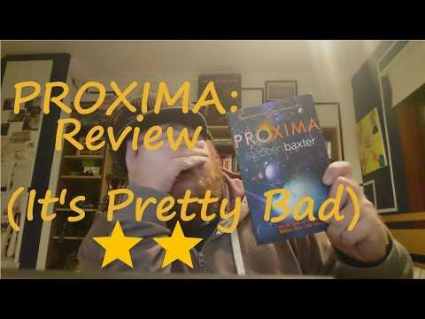 Review   Proxima by Stephen Baxter   Plots & Points