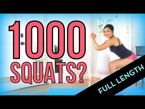 Can I do 1000 Squats? FULL LENGTH Version
