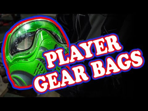 What's in Your Gear Bag? | Player Gear Bags | Lone Wolf Paintball Michigan