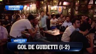 Así se vivió en Barcelona la victoria del Madrid ante el Celta