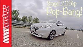235HP! Pop-Bang Peugeot 208 GTi Stage1