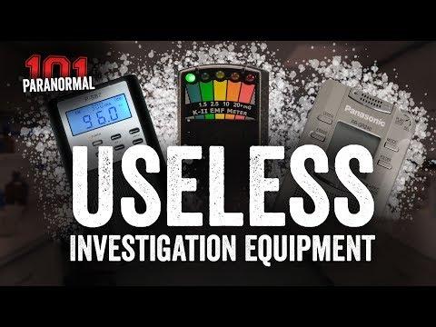 Paranormal 101 | Useless Investigation Equipment | Paranormal Investigators Of Milwaukee