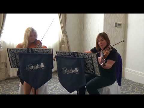 Viva La Vida (Coldplay) Andrelli String Duo (Violin and Viola)