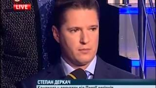 С. Деркач на Шустер Live 12 жовтня 2012 року