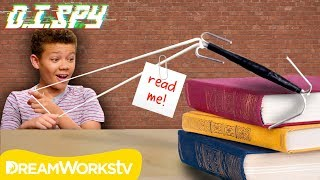 How to Send Notes to Your Neighbor! (DIY Grappling Hook) | D.I.Spy