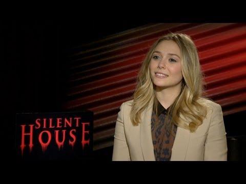 'Silent House' Elizabeth Olsen Interview HD
