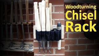 Woodturning Chisel Rack