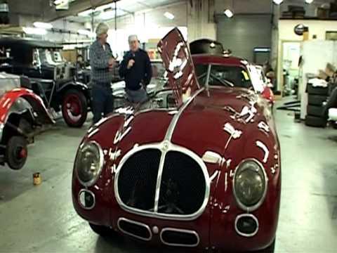 Alfa Romeo 6c 2500 & 6c 2300 MM - Paul Chaleyer of HVR & Tim Parsons
