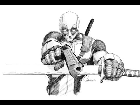 Deadpool fr paolo morrone youtube - Dessin deadpool ...