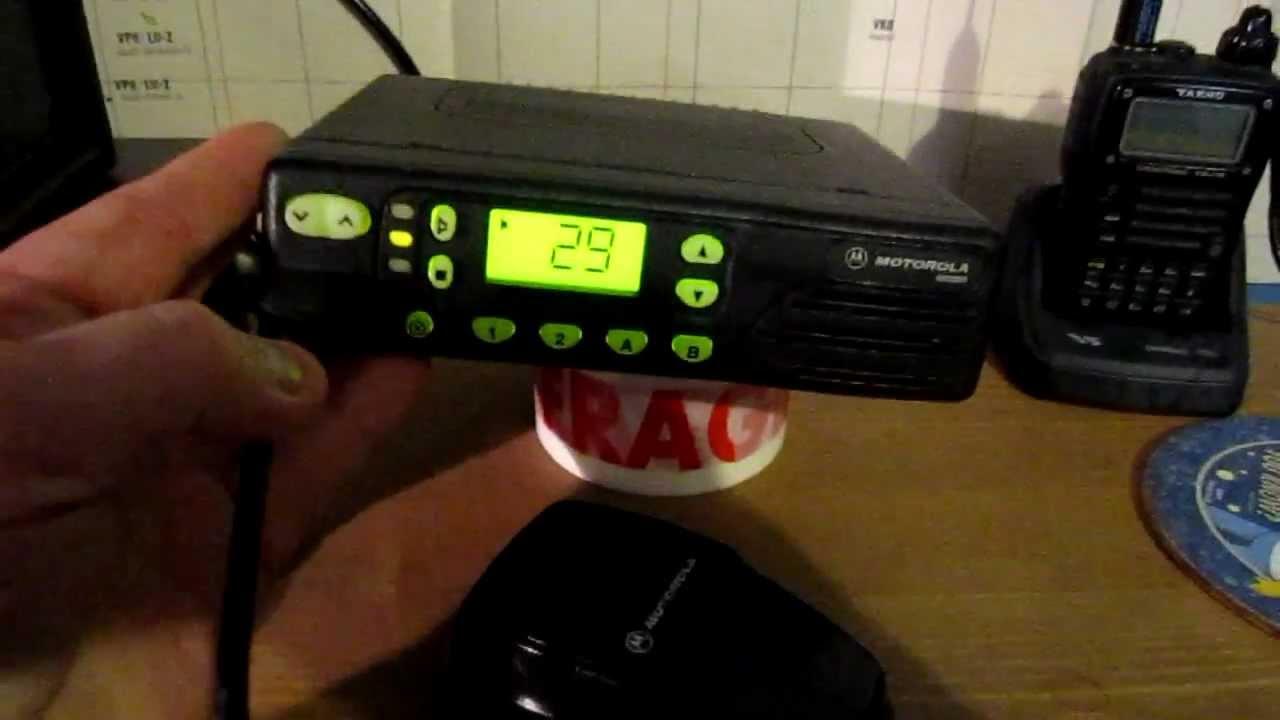 MOTOROLA GM350 VHF LOW BAND RADIO 66-88MHZ ON 4M 70 MHZ 4 METERS METRES