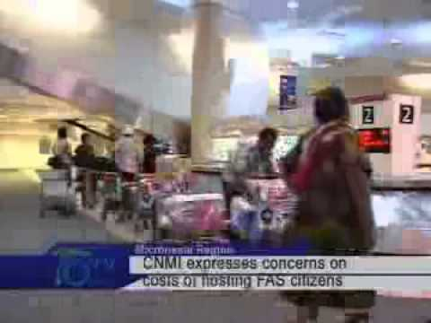 CNMI Expresses Concerns On Costs Of Hosting FAS Citizens