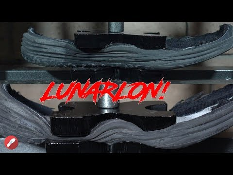 nike-lunarlon-vs.-12-ton-hydraulic-press!