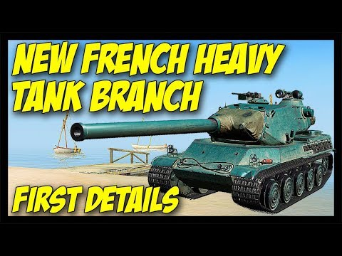 ► New French Heavy Tank Branch First Details - World of Tanks: Future News