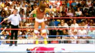 WWE the ultimate warrior entrance video RIP