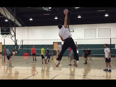 Open Gym Volleyball Highlights - 2/11/16 (feat. Curt Toppel)