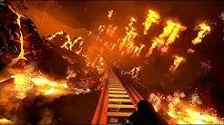 160mph RMC Roller Coaster on a Erupting Volcano Island!!! (POV)