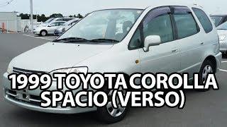 1999 TOYOTA COROLLA SPACIO (VERSO) for sale