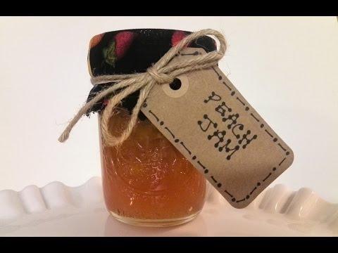 How to Make Homemade Peach Jam