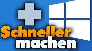 Windows 10 schneller machen  (Tutorial) - 5 Tipps für ein schnelleres Windows