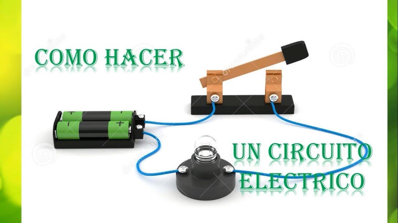 Circuito Electrico : Tutorial como hacer un circuito elÉctrico fÁcil y rÁpido youtube