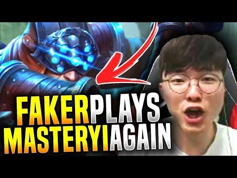 Faker Picks Master Yi Again! - SKT T1 Faker Picks Master Yi Jungle! | SKT T1 Replays
