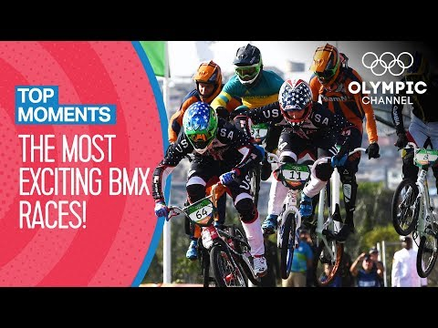 Top Most Exciting BMX Races Ever at the Olympics | Top Moments