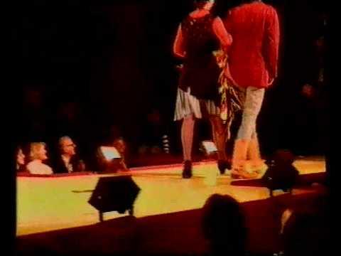 SECOND HAND FASHION SHOW ZURICH CARITAS 1989