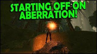 STARTING OFF ON ABERRATION! | ARK Aberration Official PvP - Ep.1