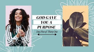 YOU WERE CREATED WITH A PURPOSE (GROW WITH GOD DAY 05) | L'amour in Christ