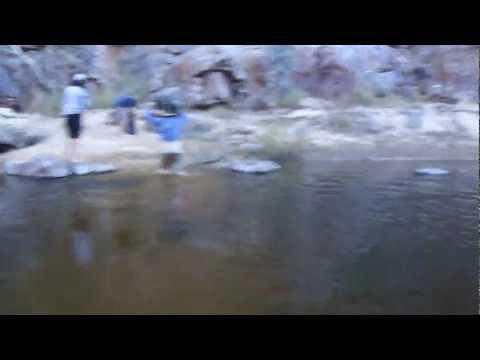 River Crossing ( West MacDonnel Ranges ) Australia